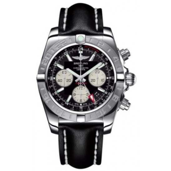 Breitling Chronomat 44 GMT (Steel) Caliber 04 Automatic Chronograph AB042011.BB56.435X
