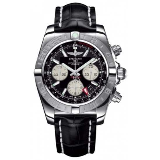 Breitling Chronomat 44 GMT (Steel) Caliber 04 Automatic Chronograph AB042011.BB56.743P