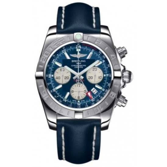 Breitling Chronomat 44 GMT (Steel) Caliber 04 Automatic Chronograph AB042011.C851.105X