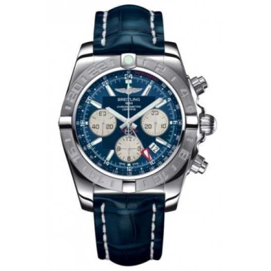 Breitling Chronomat 44 GMT (Steel) Caliber 04 Automatic Chronograph AB042011.C851.731P