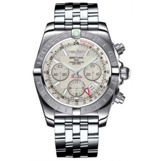 Breitling Chronomat 44 GMT (Steel) Caliber 04 Automatic Chronograph AB042011.G745.375A