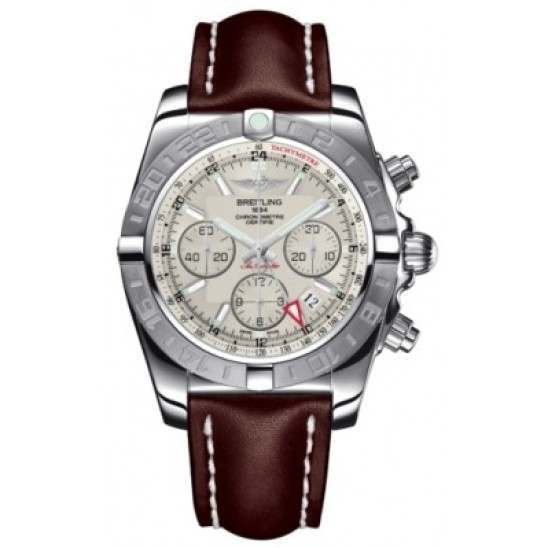 Breitling Chronomat 44 GMT (Steel) Caliber 04 Automatic Chronograph AB042011.G745.437X