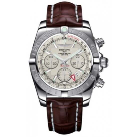 Breitling Chronomat 44 GMT (Steel) Caliber 04 Automatic Chronograph AB042011.G745.739P