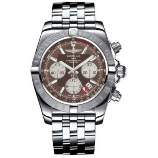 Breitling Chronomat 44 GMT (Steel) Caliber 04 Automatic Chronograph AB042011.Q589.375A