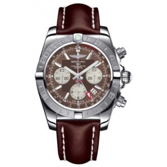 Breitling Chronomat 44 GMT (Steel) Caliber 04 Automatic Chronograph AB042011.Q589.437X