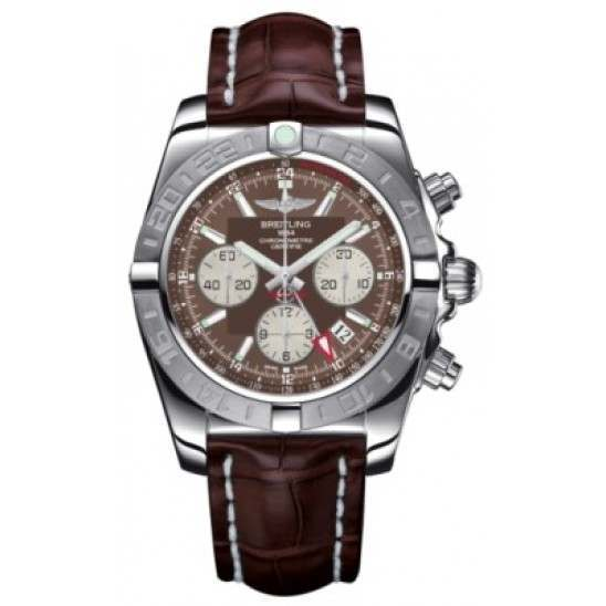 Breitling Chronomat 44 GMT (Steel) Caliber 04 Automatic Chronograph AB042011.Q589.739P