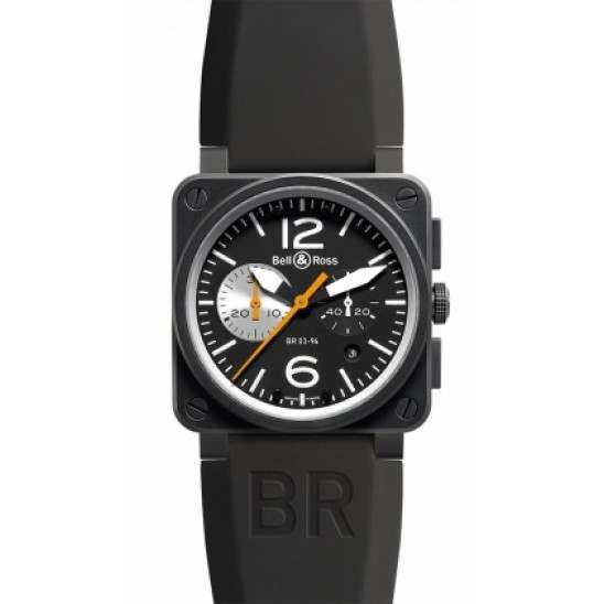 Bell & Ross BR03-94 Black/White