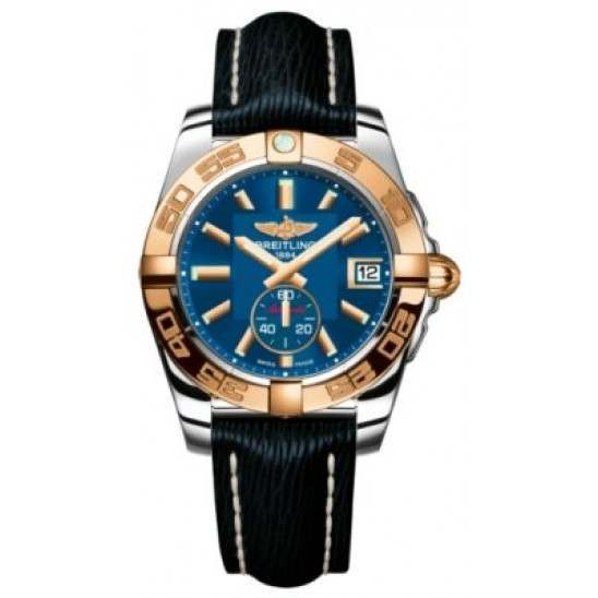 Breitling Galactic 36 (Steel & Rose Gold) Caliber 37 Automatic C3733012.C831.215X