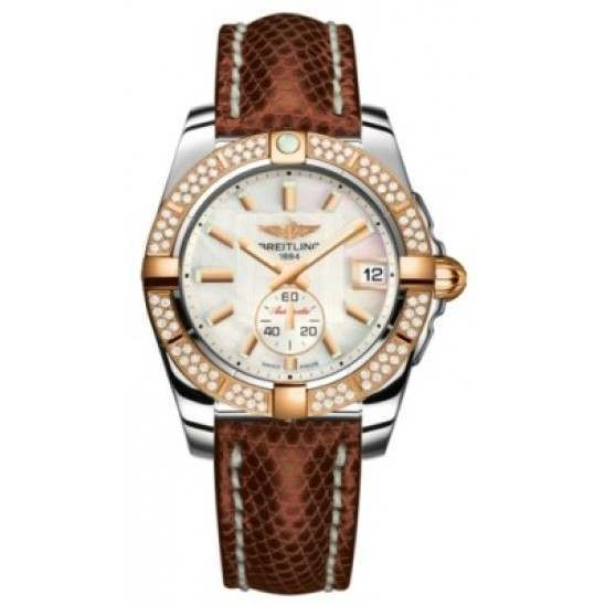 Breitling Galactic 36 (Steel & Rose Gold/ Diamonds) Caliber 37 Automatic C3733053.A724.172Z
