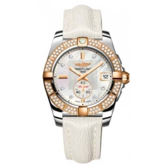 Breitling Galactic 36 (Steel & Rose Gold/ Diamonds) Caliber 37 Automatic C3733053.A725.236X