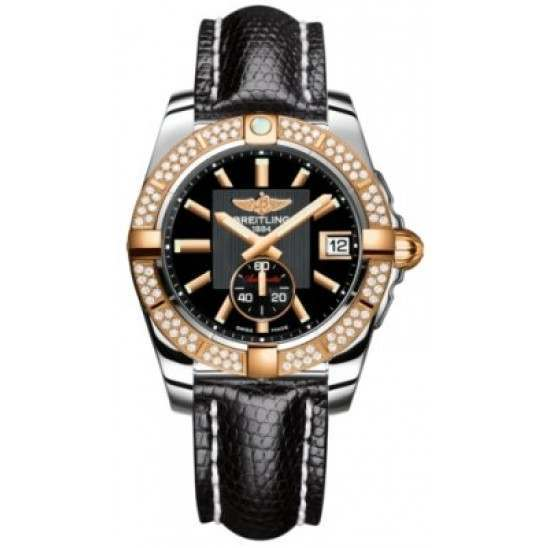 Breitling Galactic 36 (Steel & Rose Gold/ Diamonds) Caliber 37 Automatic C3733053.BA54.120Z