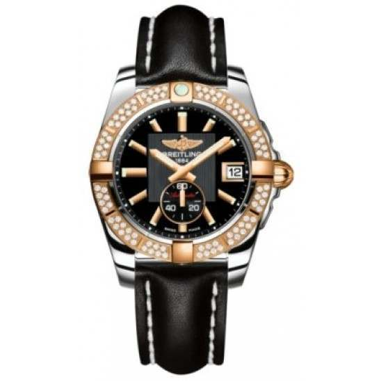 Breitling Galactic 36 (Steel & Rose Gold/ Diamonds) Caliber 37 Automatic C3733053.BA54.414X