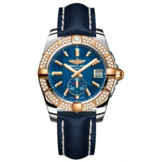 Breitling Galactic 36 (Steel & Rose Gold/ Diamonds) Caliber 37 Automatic C3733053.C831.194X