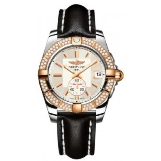 Breitling Galactic 36 (Steel & Rose Gold/ Diamonds) Caliber 37 Automatic C3733053.G714.414X