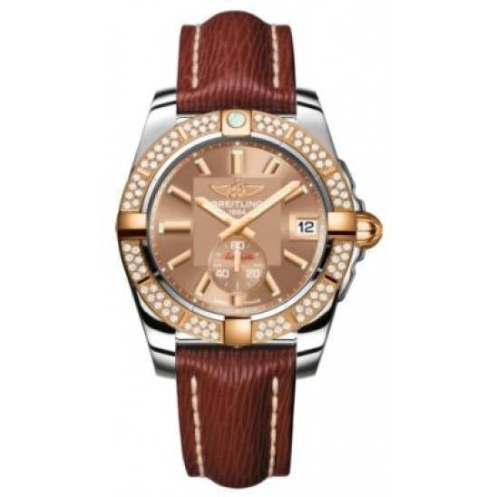 Breitling Galactic 36 (Steel & Rose Gold/ Diamonds) Caliber 37 Automatic C3733053.Q584.216X