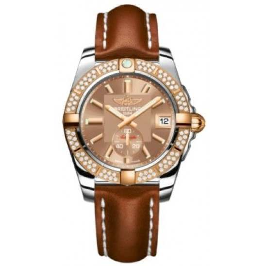 Breitling Galactic 36 (Steel & Rose Gold/ Diamonds) Caliber 37 Automatic C3733053.Q584.412X