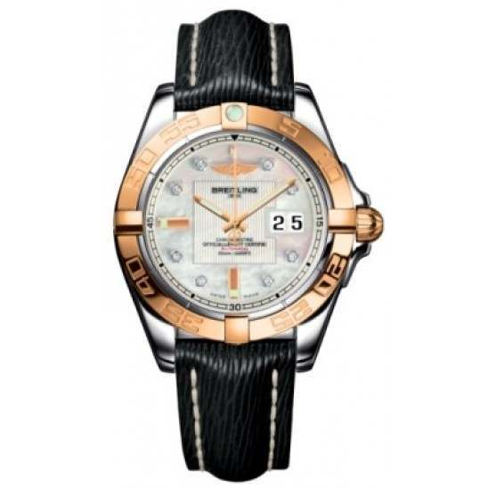 Breitling Galactic 41 (Steel & Rose Gold) Caliber 49 Automatic C49350L2.A706.218X