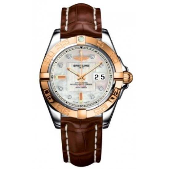 Breitling Galactic 41 (Steel & Rose Gold) Caliber 49 Automatic C49350L2.A706.722P