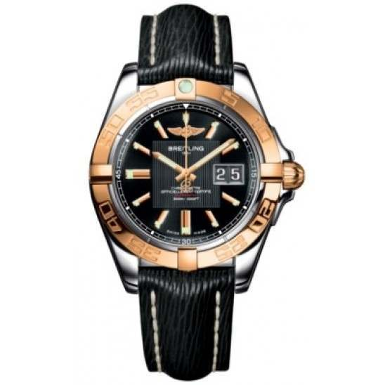 Breitling Galactic 41 (Steel & Rose Gold) Caliber 49 Automatic C49350L2.BA09.218X