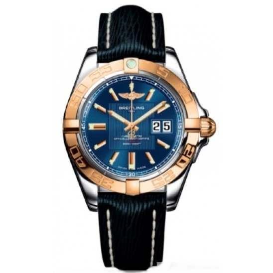 Breitling Galactic 41 (Steel & Rose Gold) Caliber 49 Automatic C49350L2.C810.220X