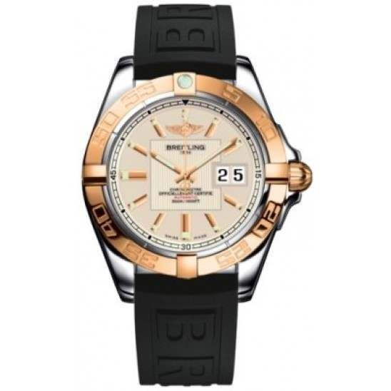 Breitling Galactic 41 (Steel & Rose Gold) Caliber 49 Automatic C49350L2.G701.150S