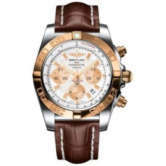 Breitling Chronomat 44 (Steel & Gold) Caliber 01 Automatic Chronograph CB011012.A696.739P