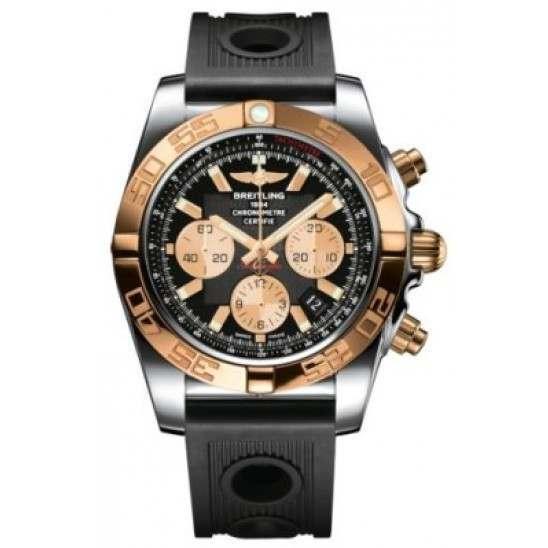 Breitling Chronomat 44 (Steel & Gold) Caliber 01 Automatic Chronograph CB011012.B968.200S