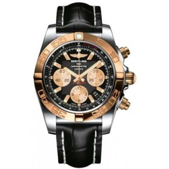 Breitling Chronomat 44 (Steel & Gold) Caliber 01 Automatic Chronograph CB011012.B968.743P