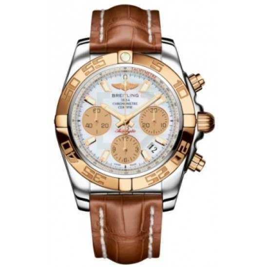 Breitling Chronomat 41 (Steel & Gold) Caliber 01 Automatic Chronograph CB014012.A722.722P