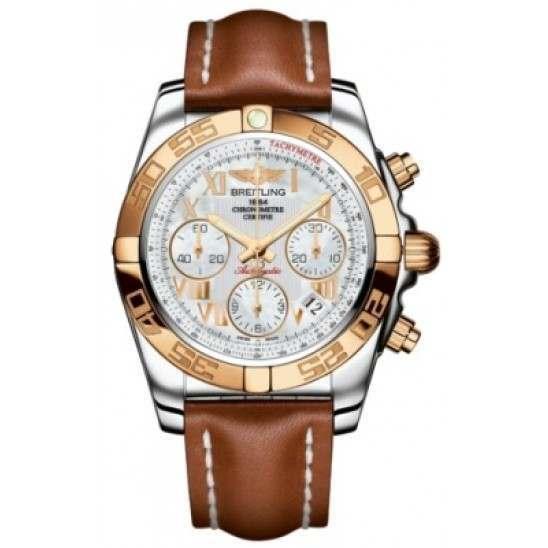 Breitling Chronomat 41 (Steel & Gold) Caliber 01 Automatic Chronograph CB014012.A748.425X