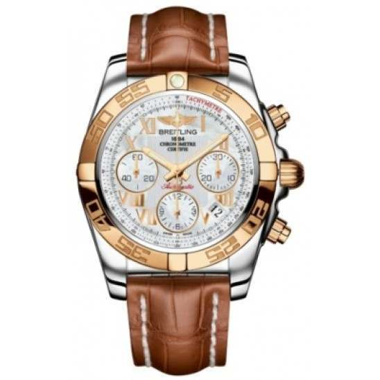 Breitling Chronomat 41 (Steel & Gold) Caliber 01 Automatic Chronograph CB014012.A748.722P