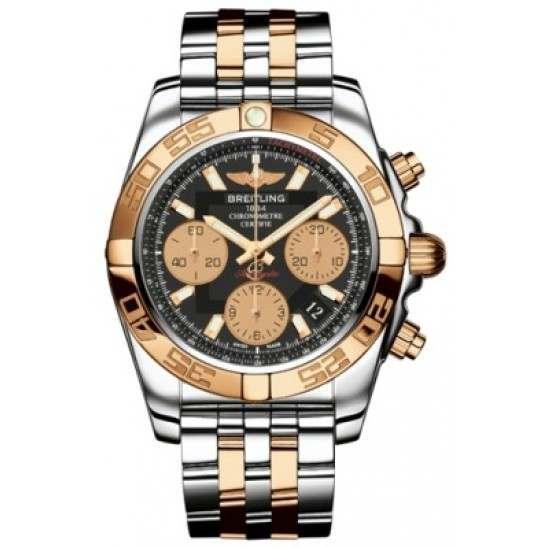 Breitling Chronomat 41 Steel  Gold Caliber 01 Automatic Chronograph CB014012BA53378C