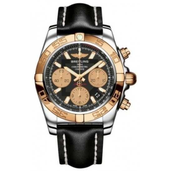 Breitling Chronomat 41 (Steel & Gold) Caliber 01 Automatic Chronograph CB014012.BA53.428X