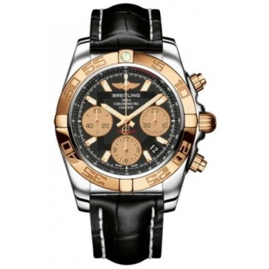 Breitling Chronomat 41 (Steel & Gold) Caliber 01 Automatic Chronograph CB014012.BA53.728P