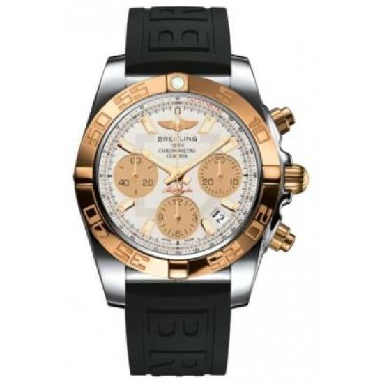 Breitling Chronomat 41 (Steel & Gold) Caliber 01 Automatic Chronograph CB014012.G713.150S