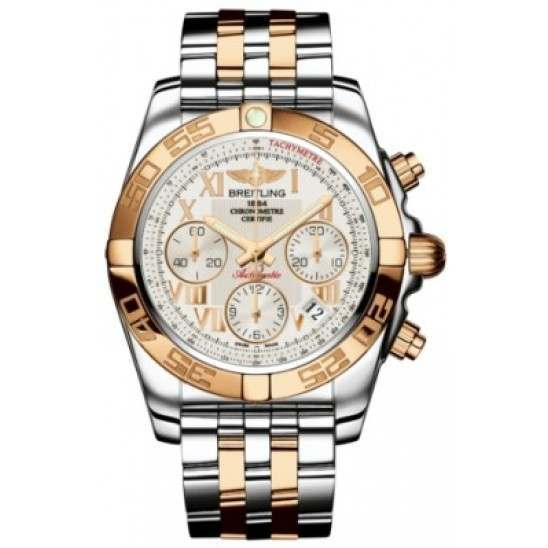 Breitling Chronomat 41 (Steel & Gold) Caliber 01 Automatic Chronograph CB014012.G759.378C