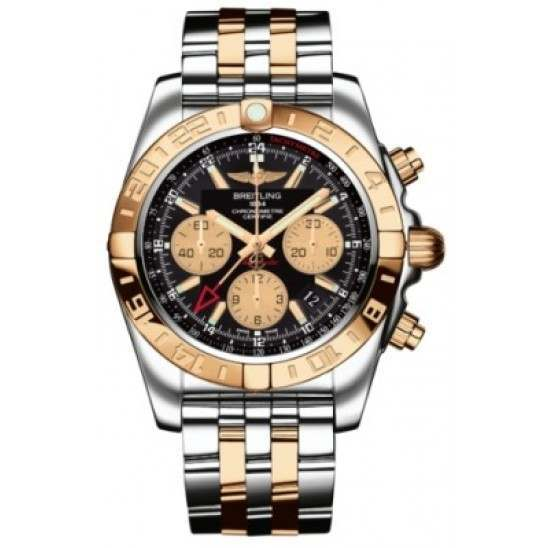 Breitling Chronomat 44 GMT (Steel & Rose Gold) Caliber 05 Automatic Chronograph CB042012.BB86.375C