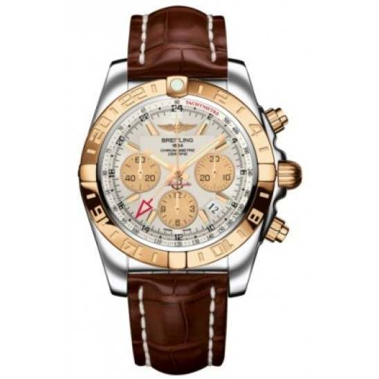 Breitling Chronomat 44 GMT (Steel & Rose Gold) Caliber 05 Automatic Chronograph CB042012.G755.737P