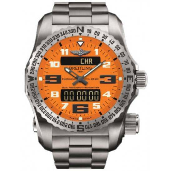 Breitling Emergency II Caliber 76 Quartz Chronograph E76325A5.O508.159E