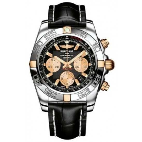 Breitling Chronomat 44 (Two-Tone) Caliber 01 Automatic Chronograph IB011012.B968.743P