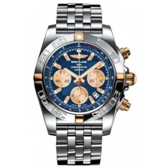 Breitling Chronomat 44 (Two-Tone) Caliber 01 Automatic Chronograph IB011012.C790.375A