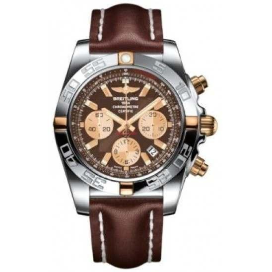 Breitling Chronomat 44 (Two-Tone) Caliber 01 Automatic Chronograph IB011012.Q576.437X