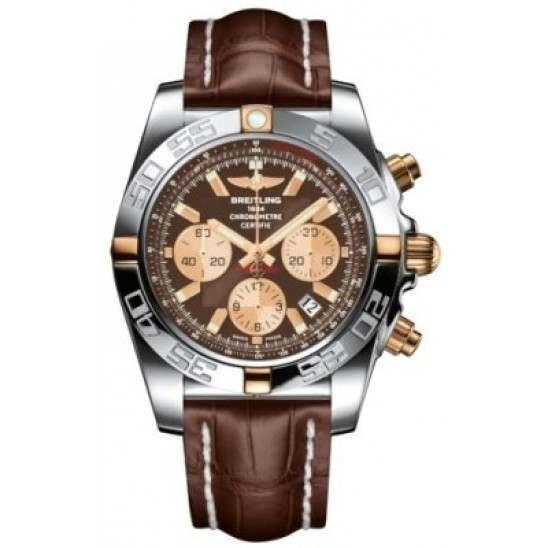 Breitling Chronomat 44 (Two-Tone) Caliber 01 Automatic Chronograph IB011012.Q576.739P