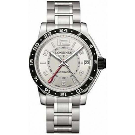 Longines Admiral GMT Second Time Zone Automatic L3.668.4.76.6