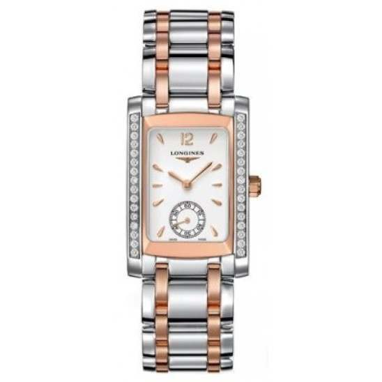 Longines DolceVita (Gold & Stainless Steel) Quartz L5.502.5.19.7