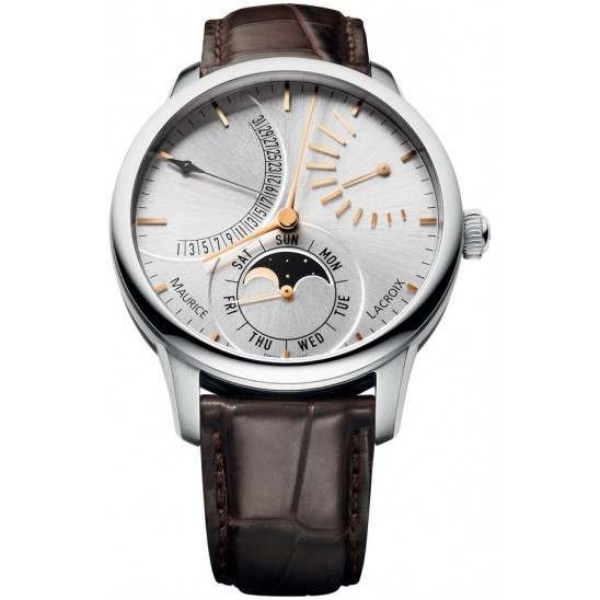 Maurice Lacroix Masterpiece Lune Retrograde MP6528-SS001-130-001