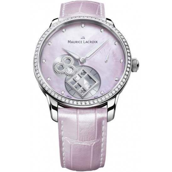 Maurice Lacroix Masterpiece Square Wheel Pink Pearl MP7158-SD501-570