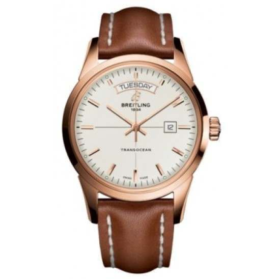 Breitling Transocean Day Date Caliber 45 Automatic R4531012.G752.433X