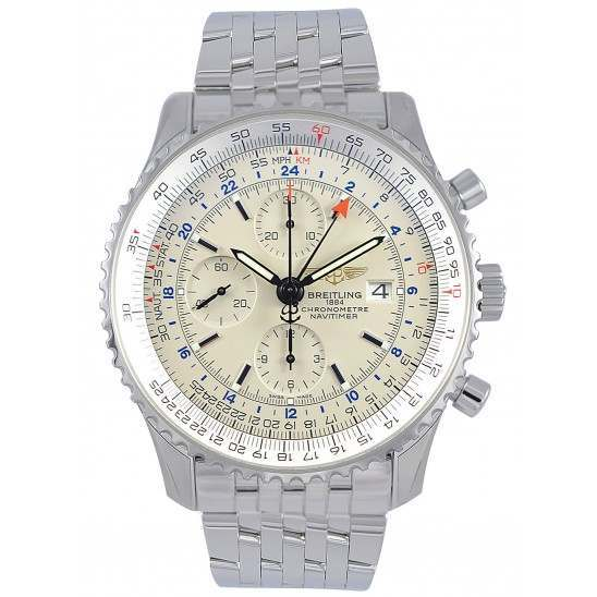 Breitling Navitimer World Automatic Chronograph A2432212.G571.443A