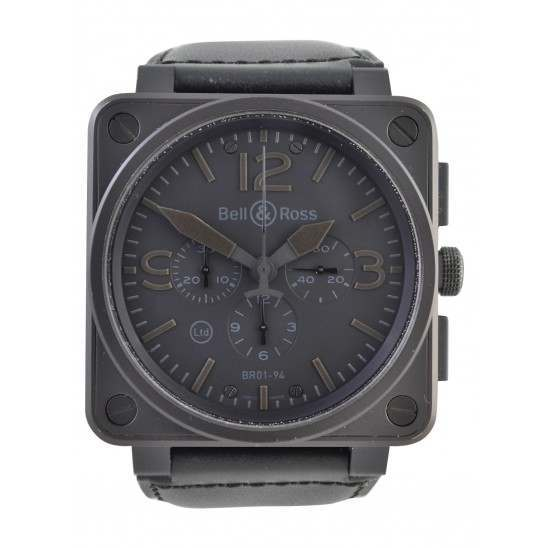 As New Bell & Ross BR01-94-SBLA Phantom Chronograph Limited Edition